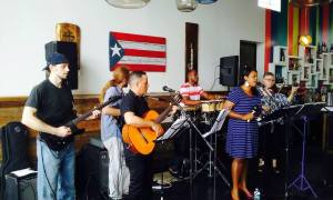 Band at Salsa Restaurant